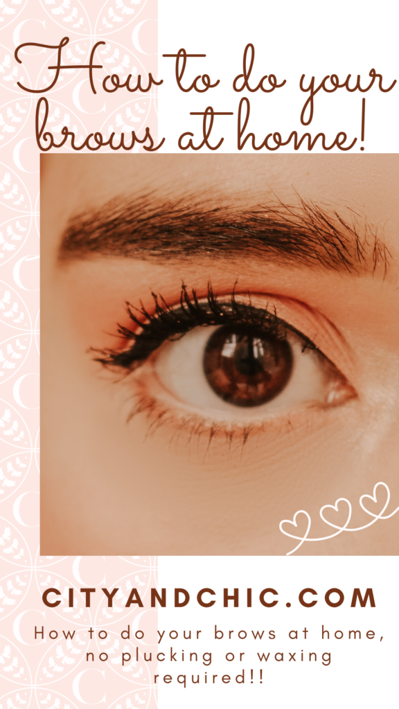 DIY | How To Do Your Eyebrows At Home For The First Time ...